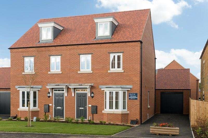 3 Bedrooms Semi Detached House for sale in Milton Road, Adderbury, Banbury