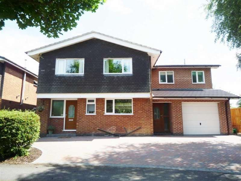 5 Bedrooms Detached House for sale in Macaulay Road, Lutterworth, Leicestershire