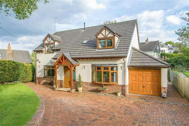 4 Bedrooms Detached House for sale in Cefn Bychan Road, Pantymwyn, Mold