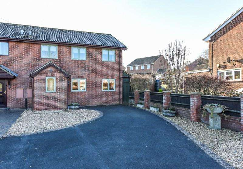 3 Bedrooms Semi Detached House for sale in Campbell Close, Grateley, Andover