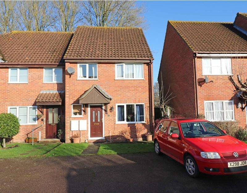 3 Bedrooms Town House for sale in Marwood Close, Wymondham