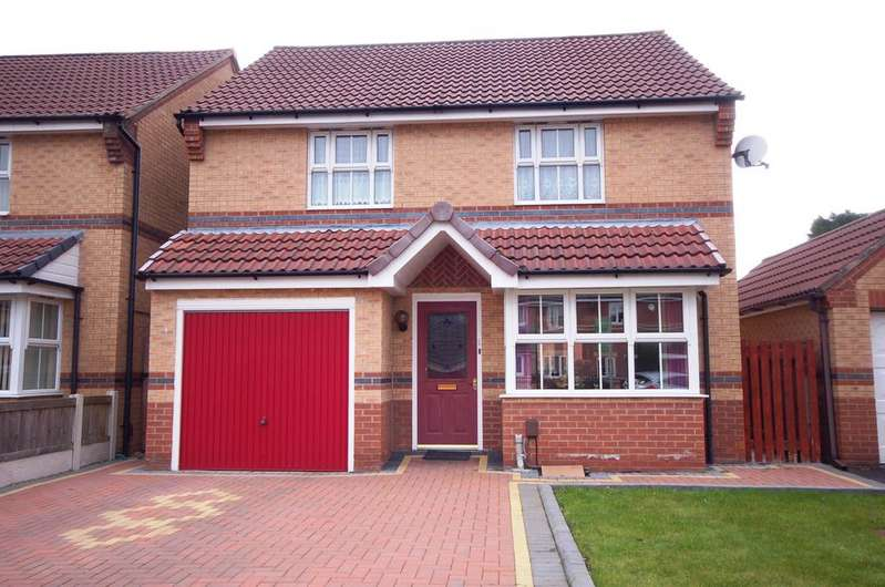 3 Bedrooms Detached House for sale in Harry Rowley Close, Woodhouse Park, Manchester M22