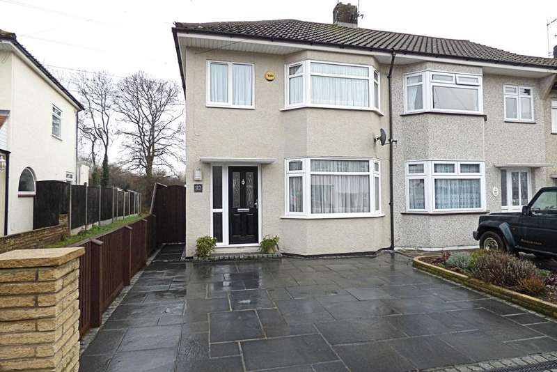 3 Bedrooms End Of Terrace House for sale in Stour Way, Upminster RM14