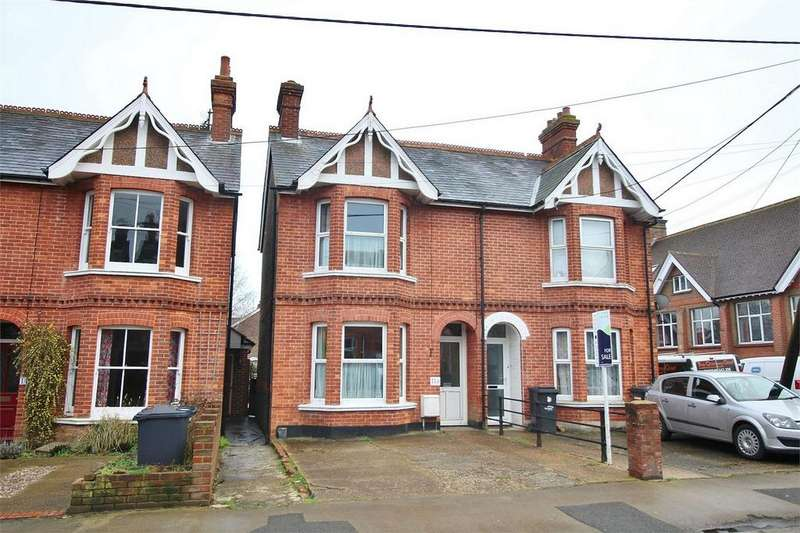 3 Bedrooms Semi Detached House for sale in Harcourt Road, Uckfield, East Sussex