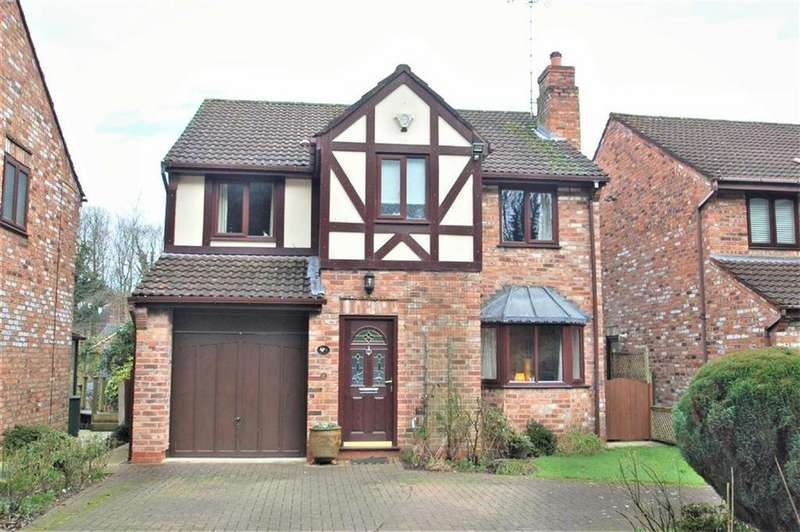 4 Bedrooms Detached House for sale in Courtney Green, Wilmslow, Cheshire