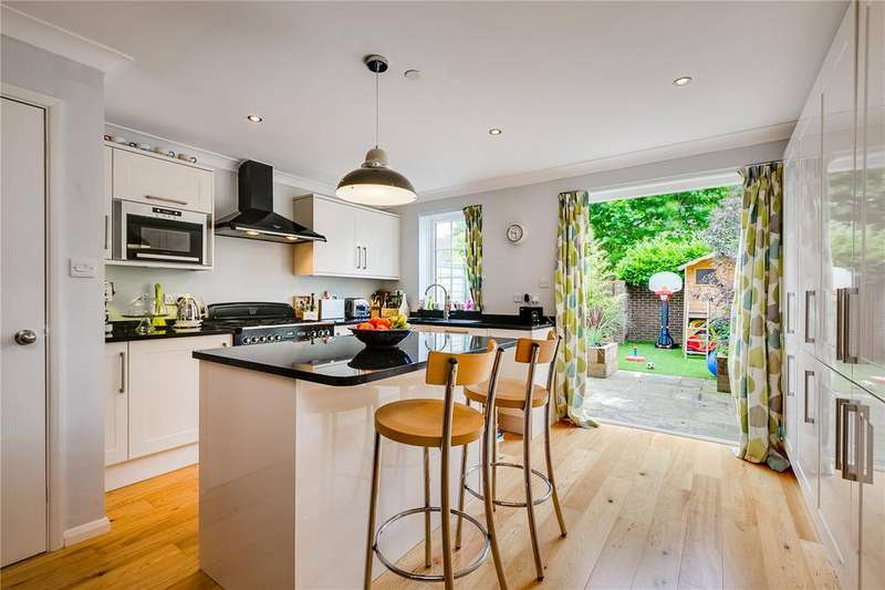 4 Bedrooms Semi Detached House for sale in Gainsborough Road, Richmond, Surrey