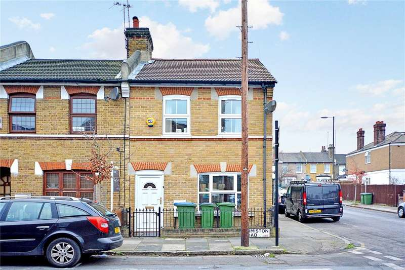 2 Bedrooms End Of Terrace House for sale in Ormiston Road, Greenwich, London