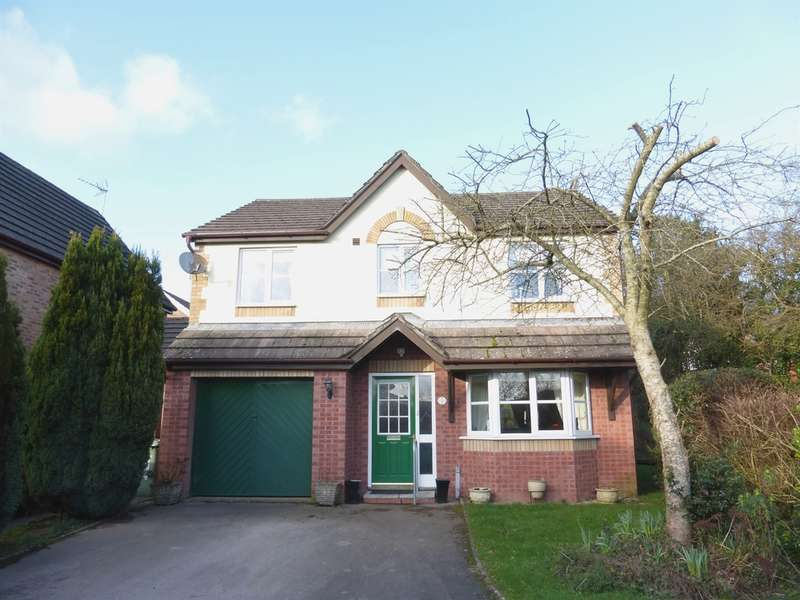 4 Bedrooms Detached House for sale in Dol Y Pandy, Bedwas, Caerphilly