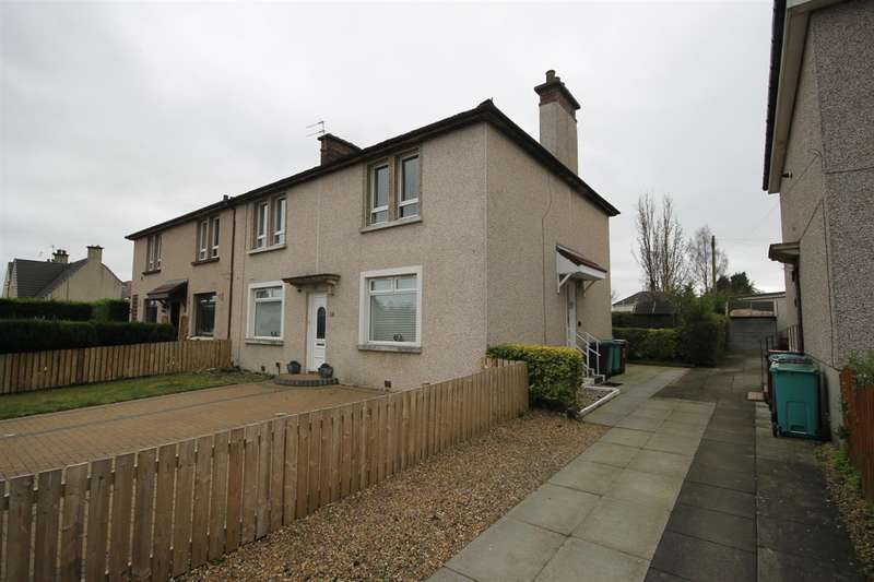2 Bedrooms Flat for sale in Agnew Avenue, Coatbridge