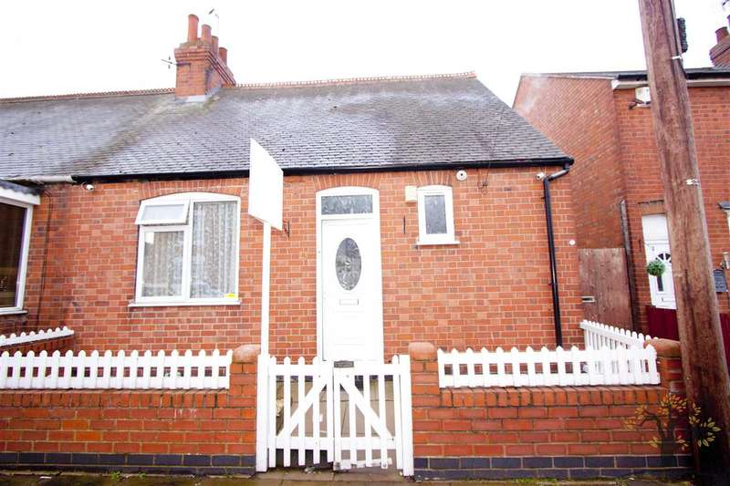 2 Bedrooms Semi Detached House for sale in Dunbar Road, Leicester