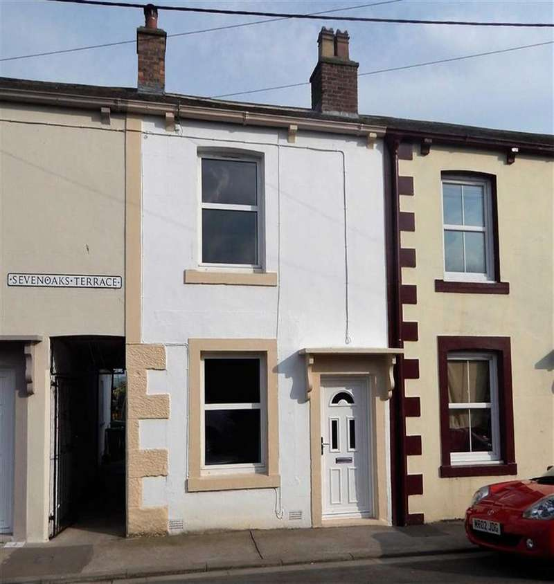 2 Bedrooms Terraced House for sale in Sevenoaks Terrace, Cross Lane, Wigton, Cumbria