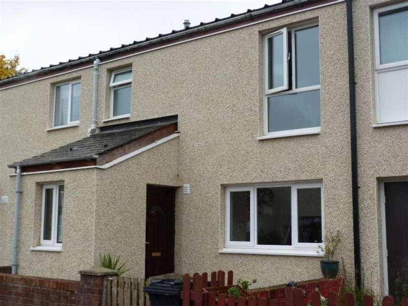 4 Bedrooms Terraced House for sale in Lon Pantyllyn, Maesydail, Newtown