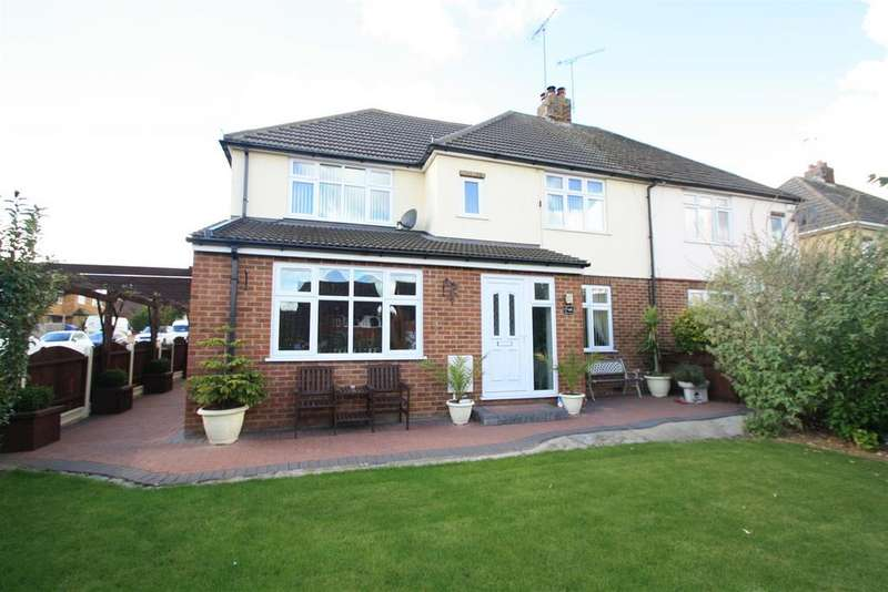 4 Bedrooms Semi Detached House for sale in Simpson Road, Bletchley, Milton Keynes