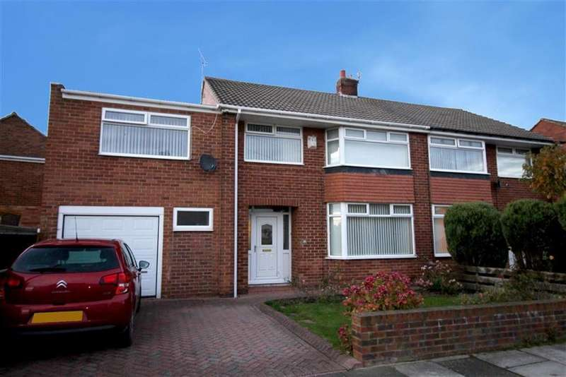 5 Bedrooms Semi Detached House for sale in High Ridge, Newcastle Upon Tyne, NE13