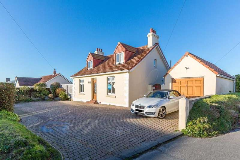 4 Bedrooms Detached House for sale in La Route de Farras, Forest, Guernsey