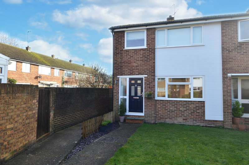 3 Bedrooms End Of Terrace House for sale in Du Pre Walk, Wooburn Green, HP10