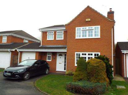4 Bedrooms Detached House for sale in Merganser Drive, Bicester, Oxfordshire, Oxon
