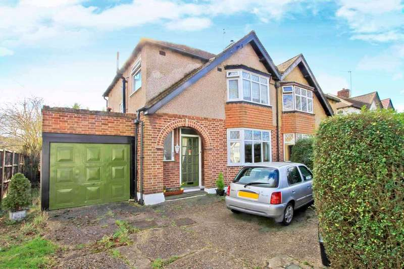 3 Bedrooms Semi Detached House for sale in Somervell Road, Harrow