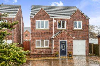 4 Bedrooms Detached House for sale in Shuttlewood Road, Bolsover, Chesterfield, Derbyshire