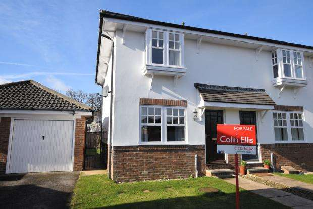 2 Bedrooms End Of Terrace House for sale in Hussars Court, Scarborough, North Yorkshire YO12 6QF