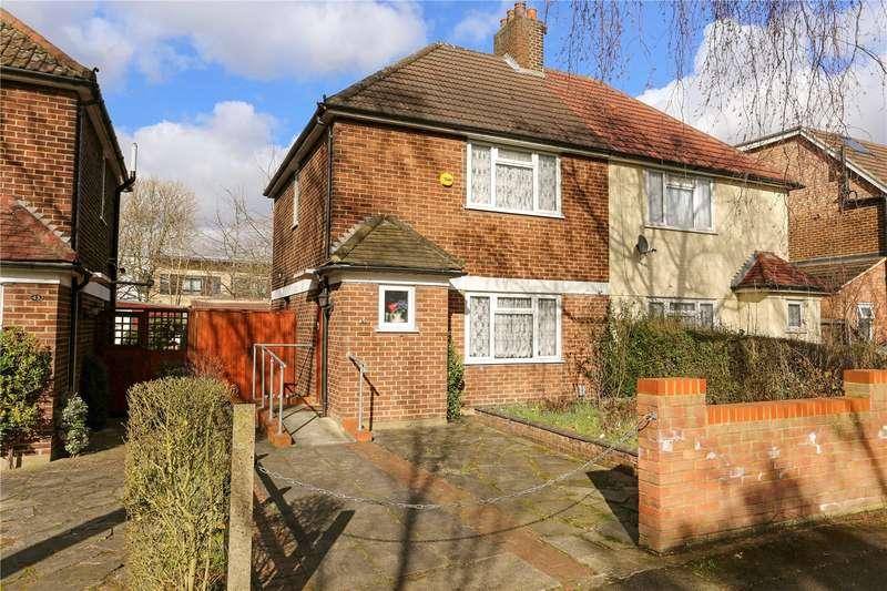 2 Bedrooms Semi Detached House for sale in Churchill Gardens, Acton, W3