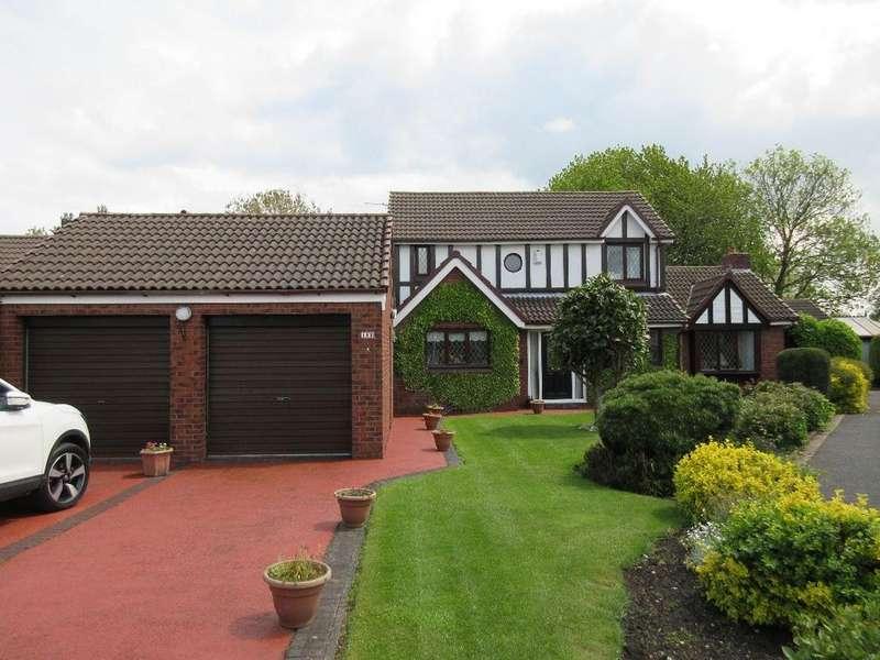 4 Bedrooms Detached House for sale in Sandicroft Close, Birchwood, Warrington, WA3 7LA