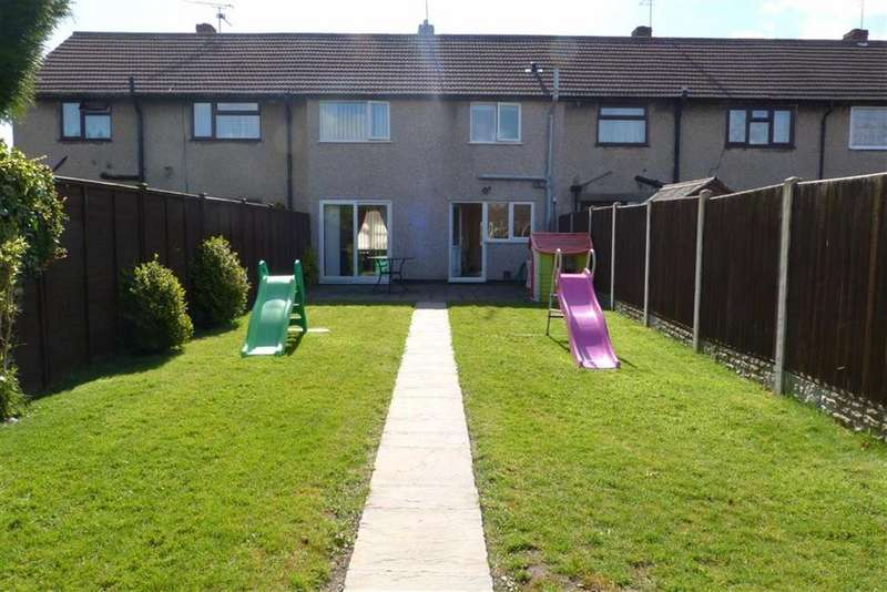 3 Bedrooms Terraced House for sale in Oak Drive, St Martins, Oswestry, SY11