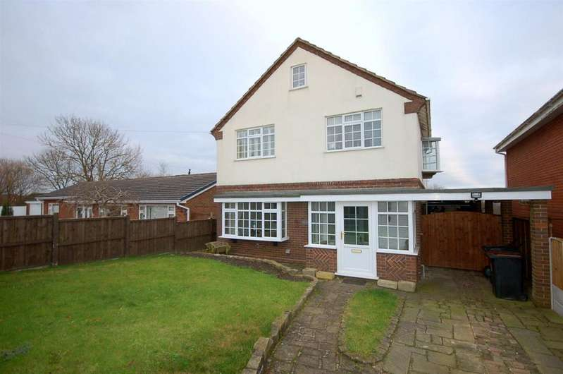 3 Bedrooms Detached House for sale in Tomfields,Wood Lane