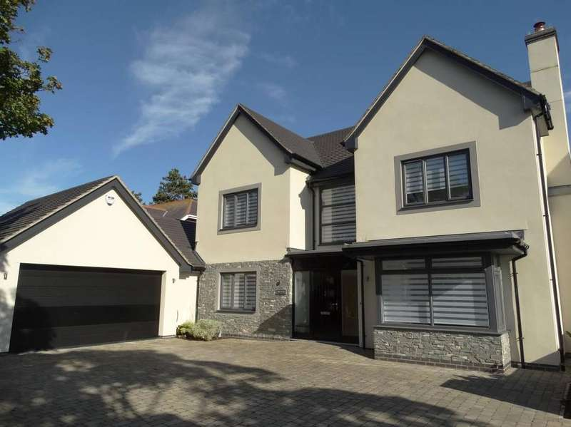 5 Bedrooms Detached House for sale in 1 Briarswood Close, Upper Colwyn Bay, LL28 5UZ