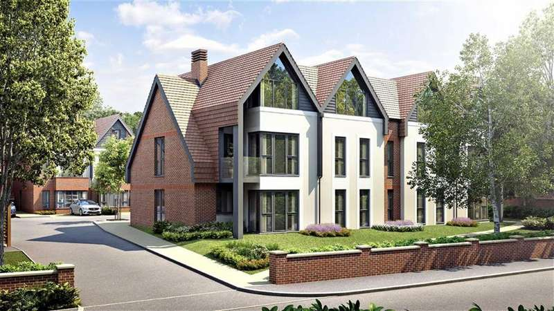 2 Bedrooms Flat for sale in Catherine's Walk, Chestnut Avenue, Guildford, Surrey, GU2
