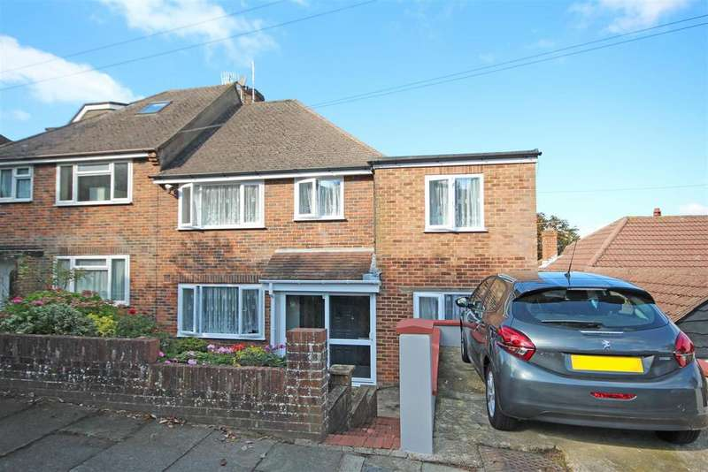 5 Bedrooms Semi Detached House for sale in Westfield Crescent, Patcham, Brighton