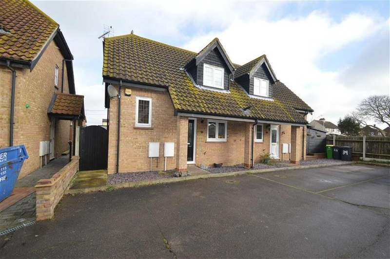2 Bedrooms Semi Detached House for sale in Ashtree Court, Great Stambridge, Essex