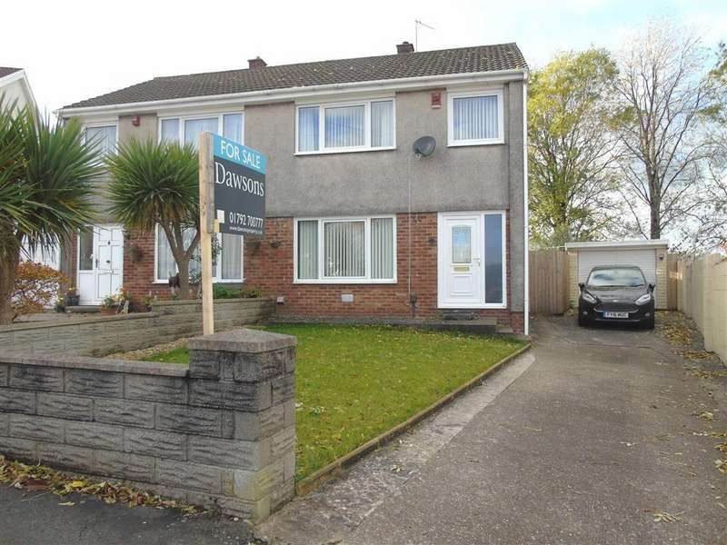 3 Bedrooms Semi Detached House for sale in Fairview Close, Llansamlet, Swansea