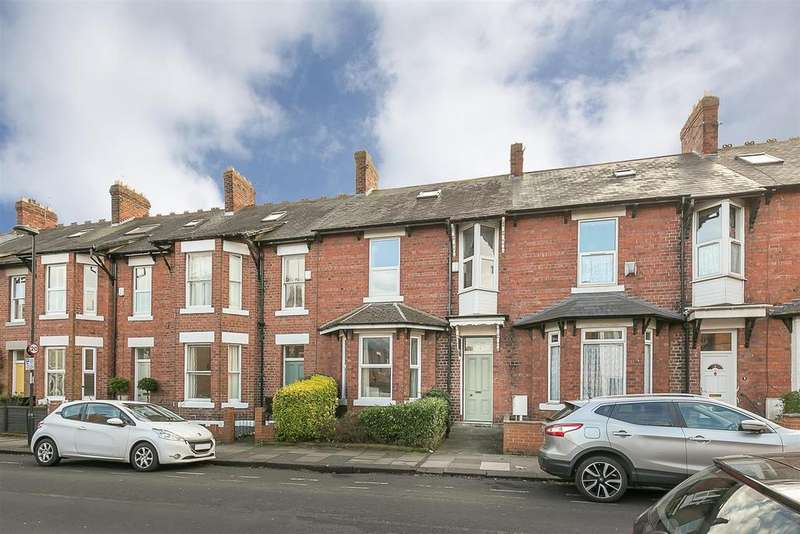 4 Bedrooms Terraced House for sale in Mistletoe Road, Jesmond, Newcastle upon Tyne