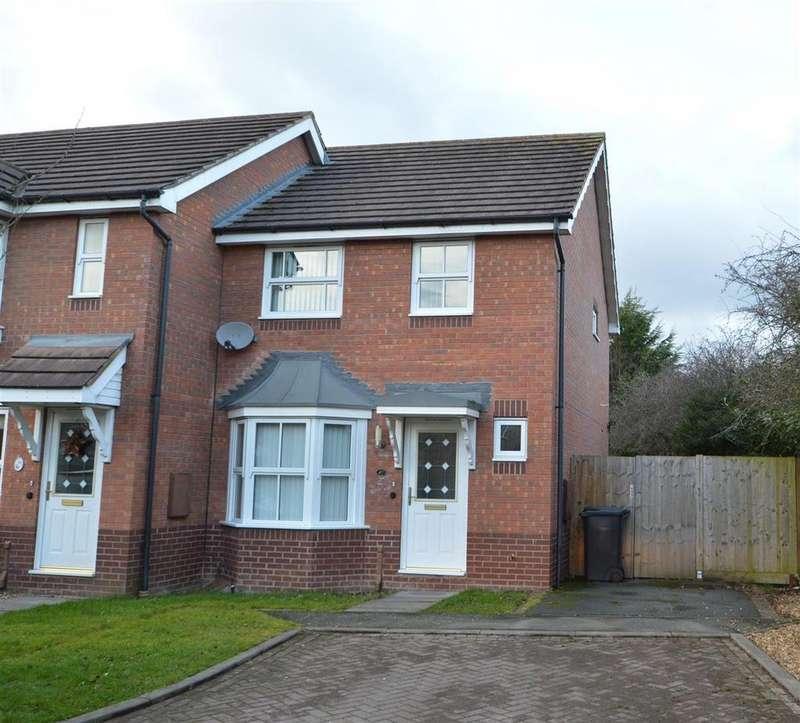 3 Bedrooms Terraced House for sale in 47 Latchford Lane, Berwick Grange, Shrewsbury, SY1 4YG