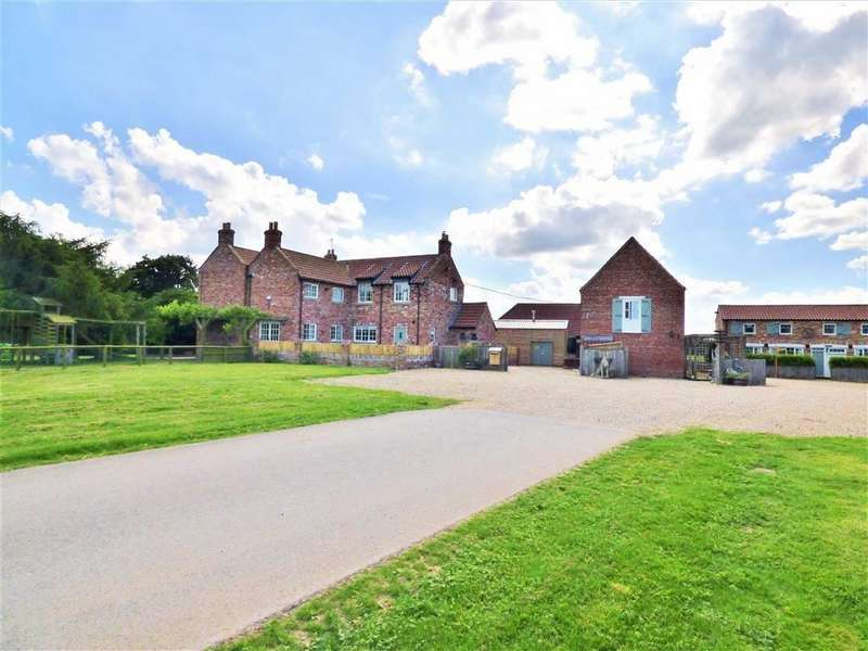 4 Bedrooms Detached House for sale in Hempholme Lane, Brandesburton