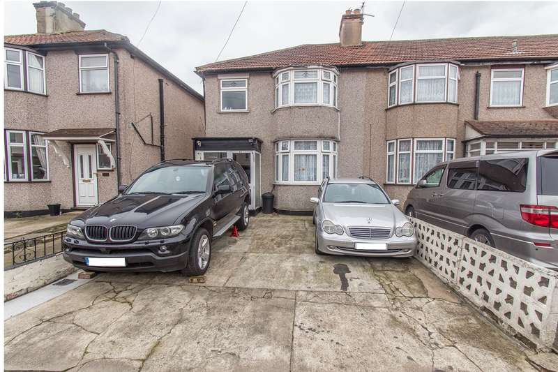 3 Bedrooms End Of Terrace House for sale in Weald Way, Romford, RM7