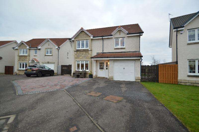 4 Bedrooms Detached House for sale in Archers Avenue, Irvine, North Ayrshire, KA11 2GB