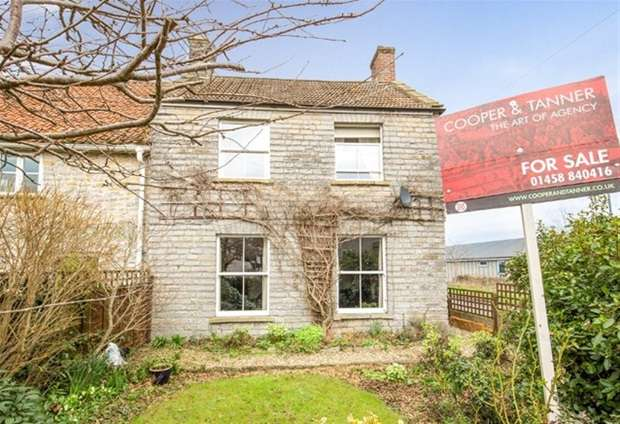 3 Bedrooms Semi Detached House for sale in Northbrook Road, Shapwick, Bridgwater