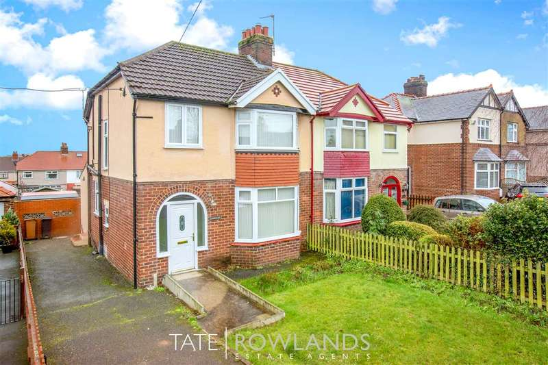 3 Bedrooms Semi Detached House for sale in Northop Road, Flint