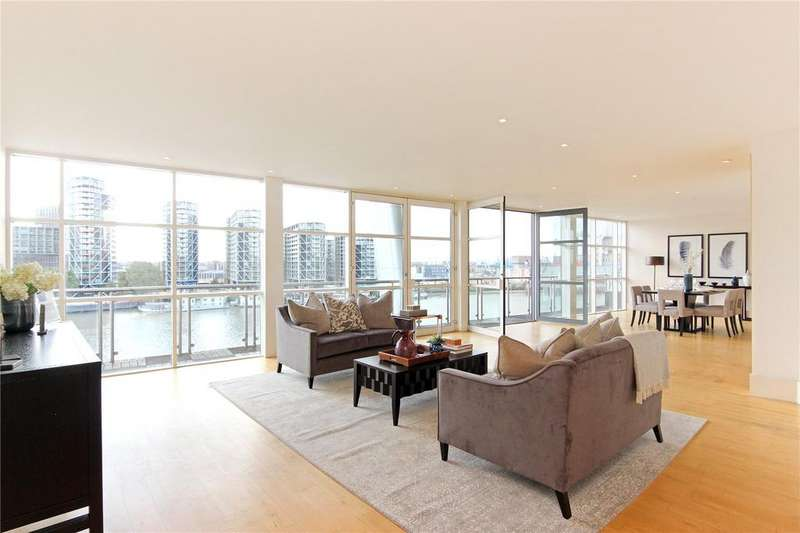 4 Bedrooms Flat for sale in Icon Apartments, 129 Grosvenor Road, Pimlico, London