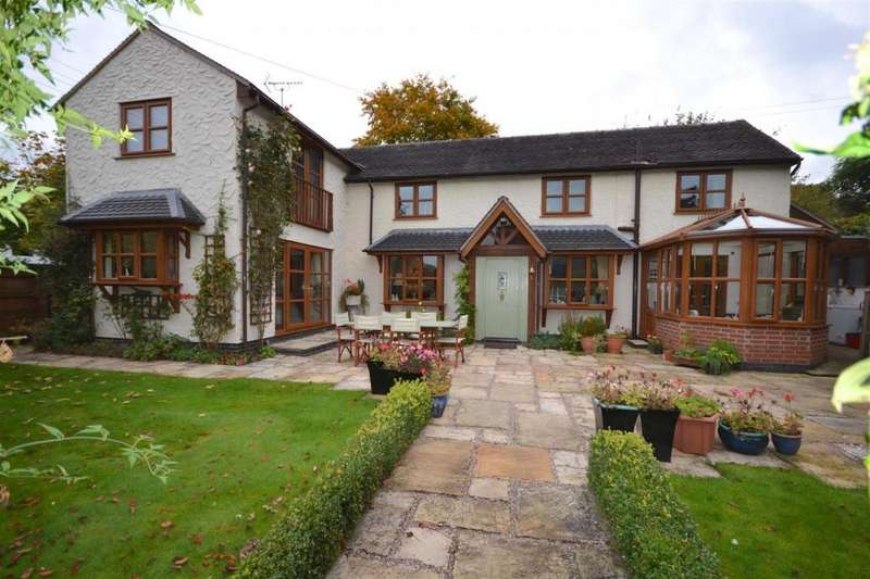 4 Bedrooms Cottage House for sale in Stone Road, Hill Chorlton, Newcastle