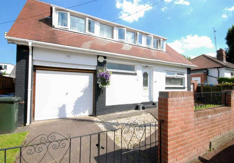 3 Bedrooms Detached House for sale in Brandon Road, Fawdon