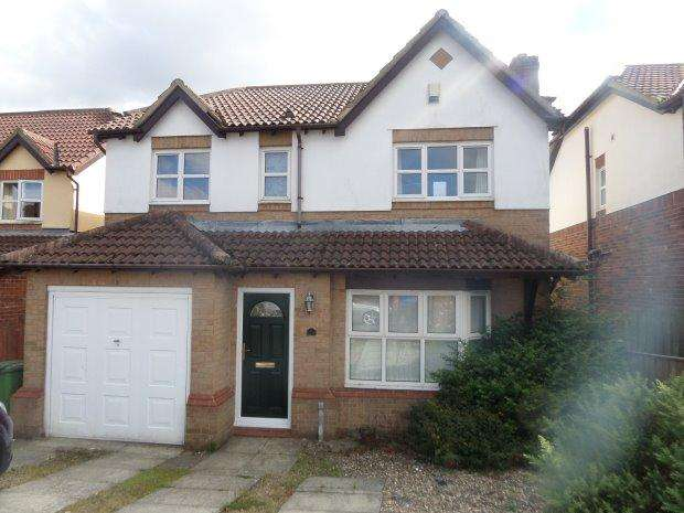 4 Bedrooms Detached House for sale in BECKWITH DRIVE, TRIMDON VILLAGE, SEDGEFIELD DISTRICT
