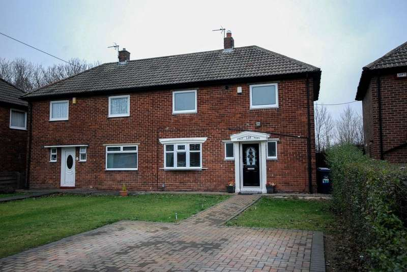 2 Bedrooms Semi Detached House for sale in Finchale Road, Hebburn