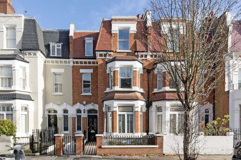 5 Bedrooms Terraced House for sale in Rostrevor Road, SW6
