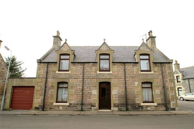 3 Bedrooms Detached House for sale in 2 Seafield Street, Findochty, Buckie, Moray
