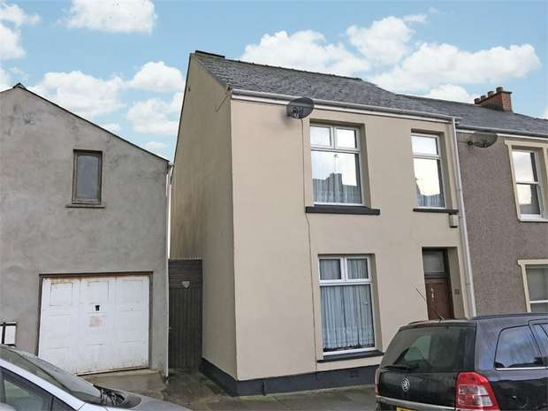 4 Bedrooms End Of Terrace House for sale in Gwyther Street, Pembroke Dock, Pembrokeshire