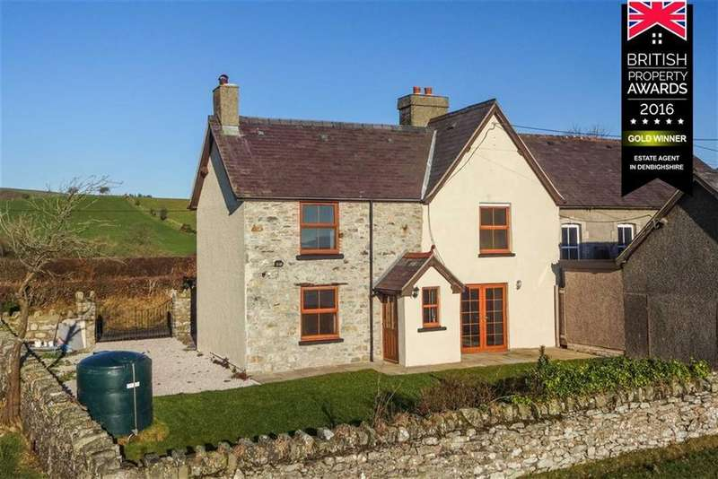 3 Bedrooms Semi Detached House for sale in Derwen, Corwen