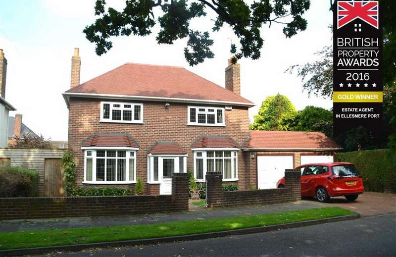 4 Bedrooms Detached House for sale in Ledsham Road, Little Sutton, CH66